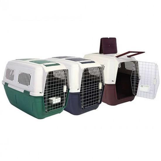 Strong Cage Tekerlekli Köpek Taşıma Kafesi 102x74x76 Cm (Yeşil)