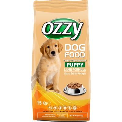 Ozzy Puppy Kuzu Etli Pirinçli Yavru Köpek Maması 15 kg