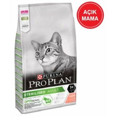 Pro Plan Sterilised Somonlu Kısırlaştırılmış Yetişkin Kedi Açık Mama 1 KG