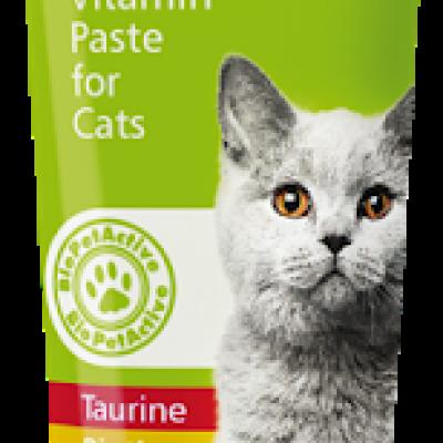 Bio Pet Active VitaliCat Paste Taurin ve Biotinli Kedi Ödülü 100