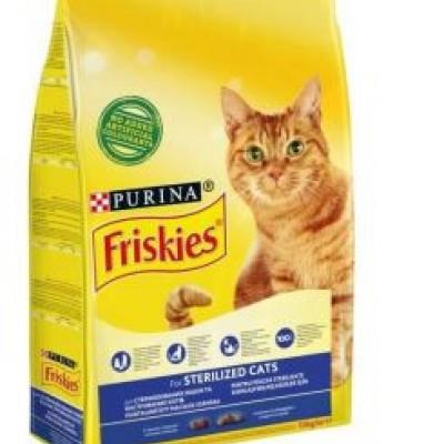 Purina Friskies Friskies Sterilised Somonlu Kısırlaştırılmış Kedi Maması 10 Kg