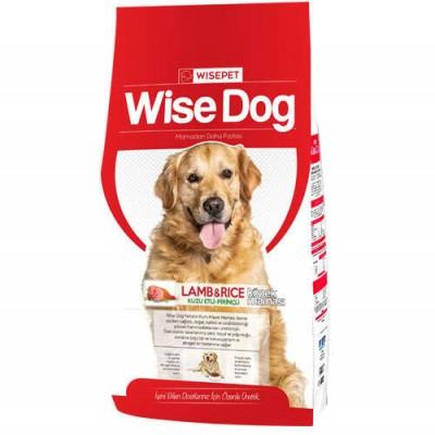 Wise Dog Lamb Rice Kuzu Etli Yetişkin Köpek Maması 15 Kg