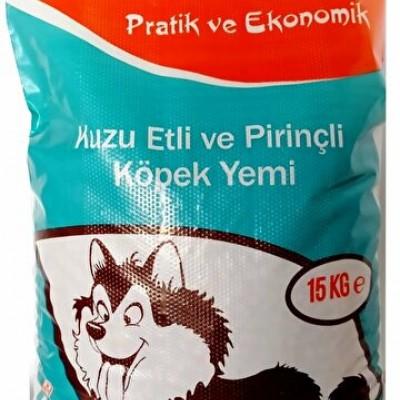 Realist Kuzu Etli ve Pirinçli Yetişkin Köpek Maması 15 KG