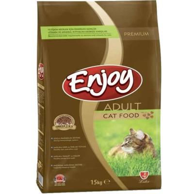 Enjoy Tavuklu 15 kg Yetişkin Kedi Maması