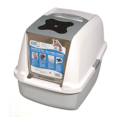 Catit Kapalı Kedi Tuvalet Kabini (57X46,5X39)