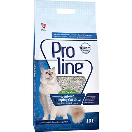 Proline Bentonit Topaklaşan 10 lt Kedi Kumu
